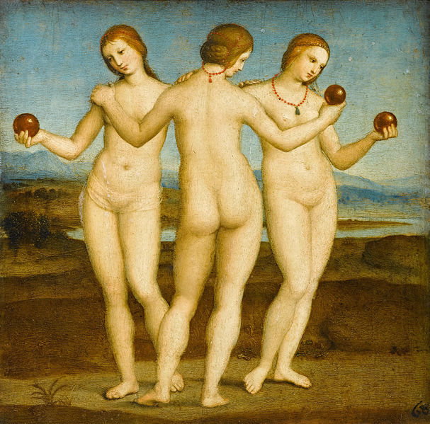 The Three Graces - Rafael