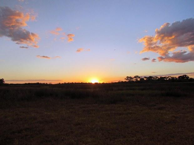 Sunset, Moremi Game Reserve, Botswana